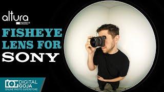 Fisheye lens…