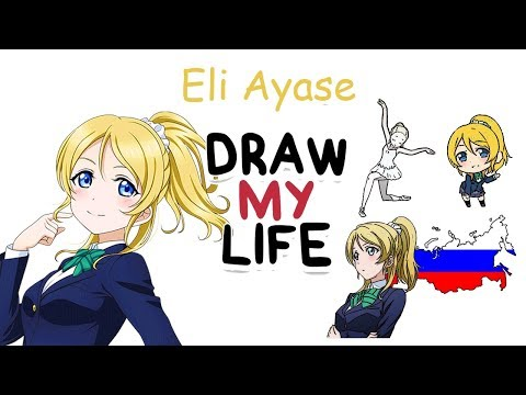 Eli Ayase - Love Live! | Biography & Facts You Didn't Know | Draw My Life