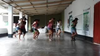Ensayo de joropo FUNLLAPASU 2.015 Paz De Ariporo - Casanare