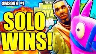 HOW TO GET MORE SOLO WINS SEASON 6 FORTNITE TIPS AND TRICKS! HOW TO GET MORE SOLO WINS FORTNITE!