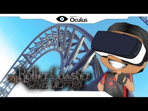 Roller Coaster Cave Depths • AnGuuh Play • Oculus Games • Gear VR Gameplay • VIRTUAL REALITY