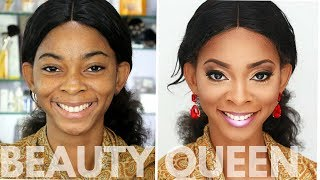 How To Look Like A Beauty Queen | Soft Glam with MBGN Tourism Winfrey Okolo