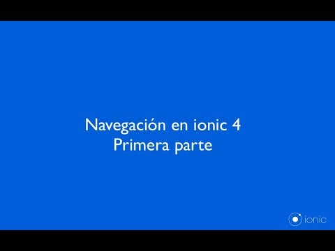 Ionic 4 - Routing and Navigation Guide - YouTube