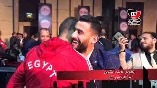 «الصلح خير»  بالأحضان سعد سمير وباسم مرسي حبايب