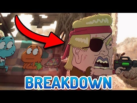 "Gumball ""The Vegging"" BREAKDOWN! 200TH EPISODE Easter Eggs & References"