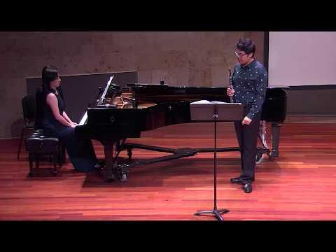Poulenc: Sonata for Oboe and Piano, FP 185; Mingjia Liu/ Chia-Lin Yang