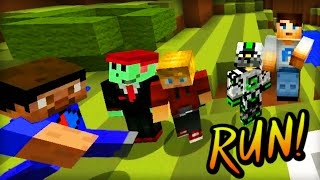 Minecraft DEATH RUN! - w/ Ali-A, Vikk, Nade, Lachlan & Pete!