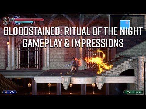 E3 2017 - Bloodstained: Ritual of the Night Gameplay & Impressions