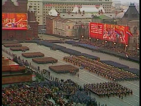 HD Soviet October Revolution Parade, 1984 Парад 7 Ноября