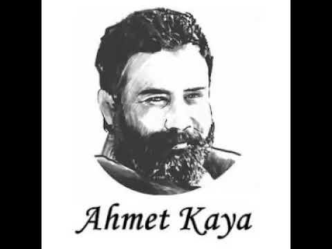 Ahmet Kaya ben gönlümü sana verdim pare pare yola serdim