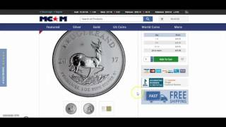 2017 Silver Krugerrand PRICE DROP!! Are YOU ready to buy now?!