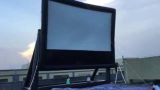 BIGflixx-Titan™ Drive-In Movie Screen #2