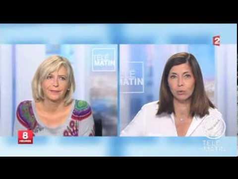 Anne-Marie Gaignard au journal du matin de France 2 - 31 août 2013