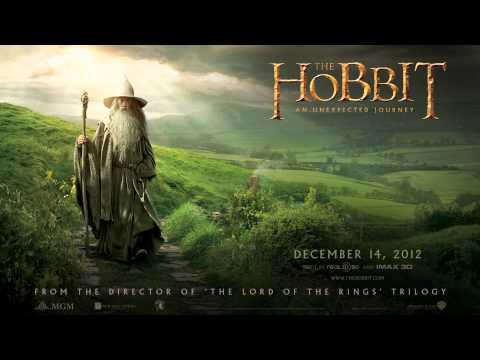 The Hobbit:An Unexpected Journey Trailer theme - Over The Misty Mountains Cold [Full Version] 1080p