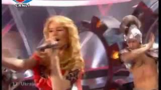 Eurovision 2009  Ukraine Svetlana Loboda Be my Valentine! (Anti crisis Girl)
