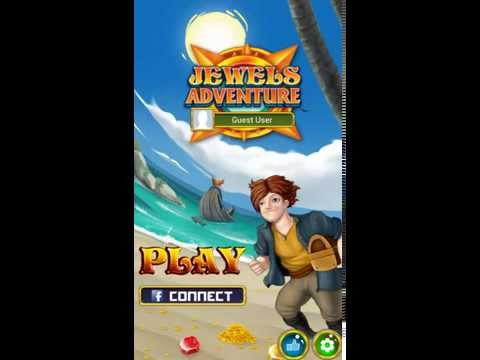Jewels Adventure Gameplay Walkthrough - Tutorial for Android/IOS