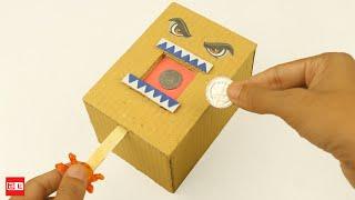 How to Make Coin Bank Box - Saving Coin Bank DIY