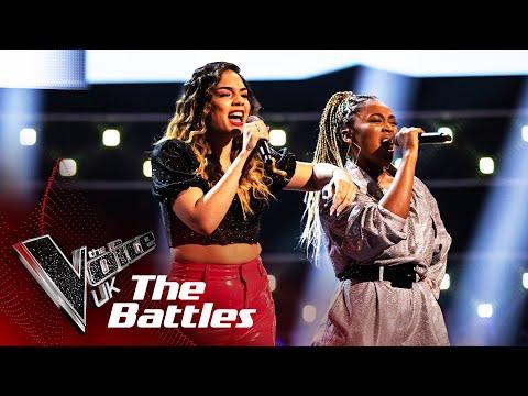 Lucy Calcines VS Alia Lara - 'Bounce Back' | The Battles | The Voice UK 2020
