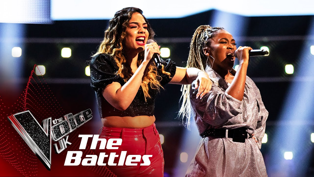 Lucy Calcines Vs Alia Lara Bounce Back The Battles The Voice Uk 2020 Youtube