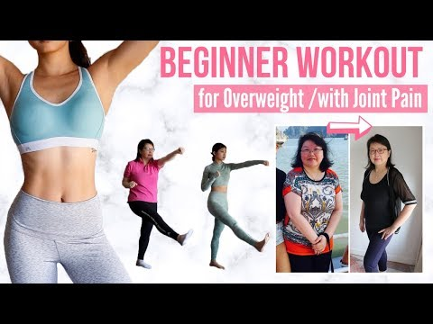 10 min Beginner Workout for Overweight/ with Joint Pain/ Older Adults [NO JUMPING] Emi