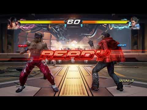 TEKKEN 7 Dr cable(law,jack-7) vs Roy(hwoarang)