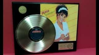 Donna Summer She Works Hard For The Money Gold LP Record