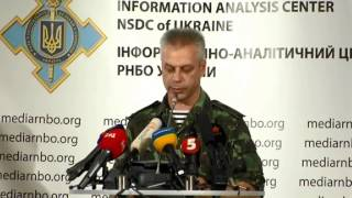 (english) Andriy Lsenko. Ukraine Crisis Medai Center, 10th Of August 2014