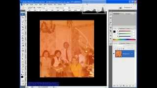Removing a Colour Cast Using Levels