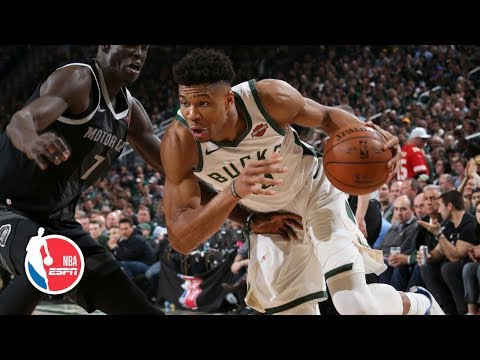 Giannis Antetokounmpo double-double leads Bucks to Game 2 win vs. Pistons | NBA Highlights