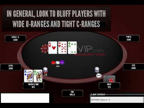Poker Strategy - Opening Ranges & Continuing Ranges