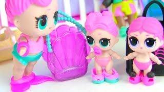Ляльки Лол Мультик! Повна Колекція Лол 3 Серія! Baby Dolls! Lol Surprise