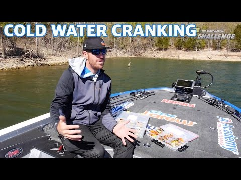 Catching Big Bass in Cold Water with Crankbaits. - Pro Bass Fishing Tips