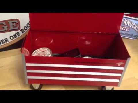 Miniature Toolbox from The Busted Knuckle Garage
