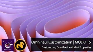 MODO Customizing Omnihaul and Mini Properties