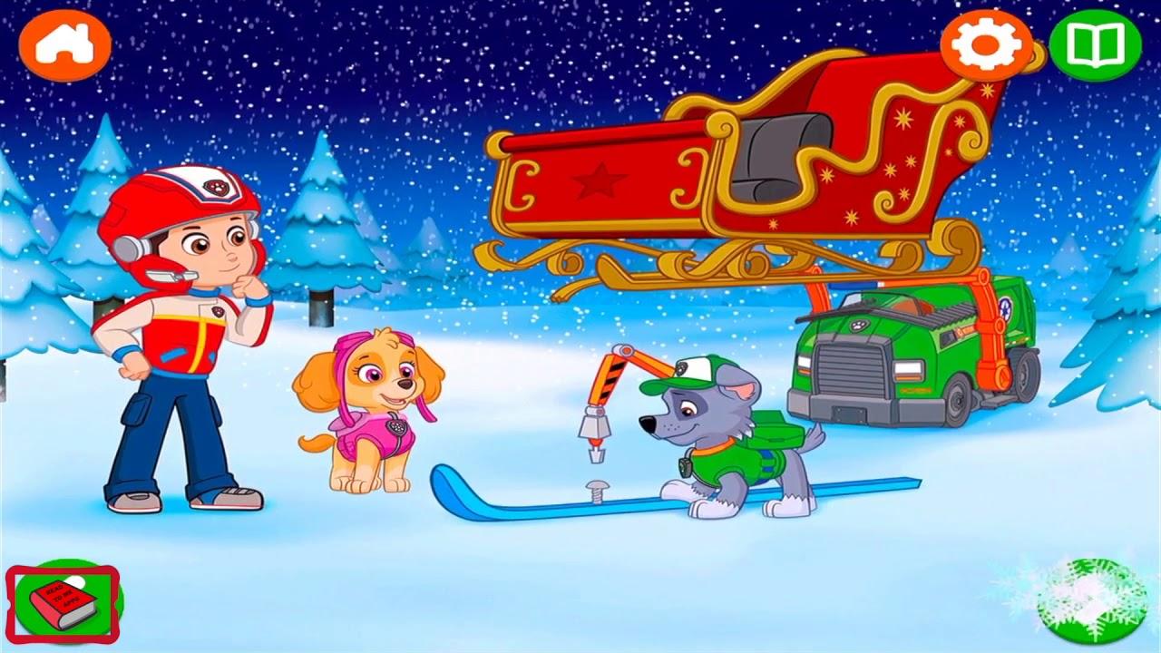 Save Christmas.Paw Patrol The Pups Save Christmas Books For Kids Audio