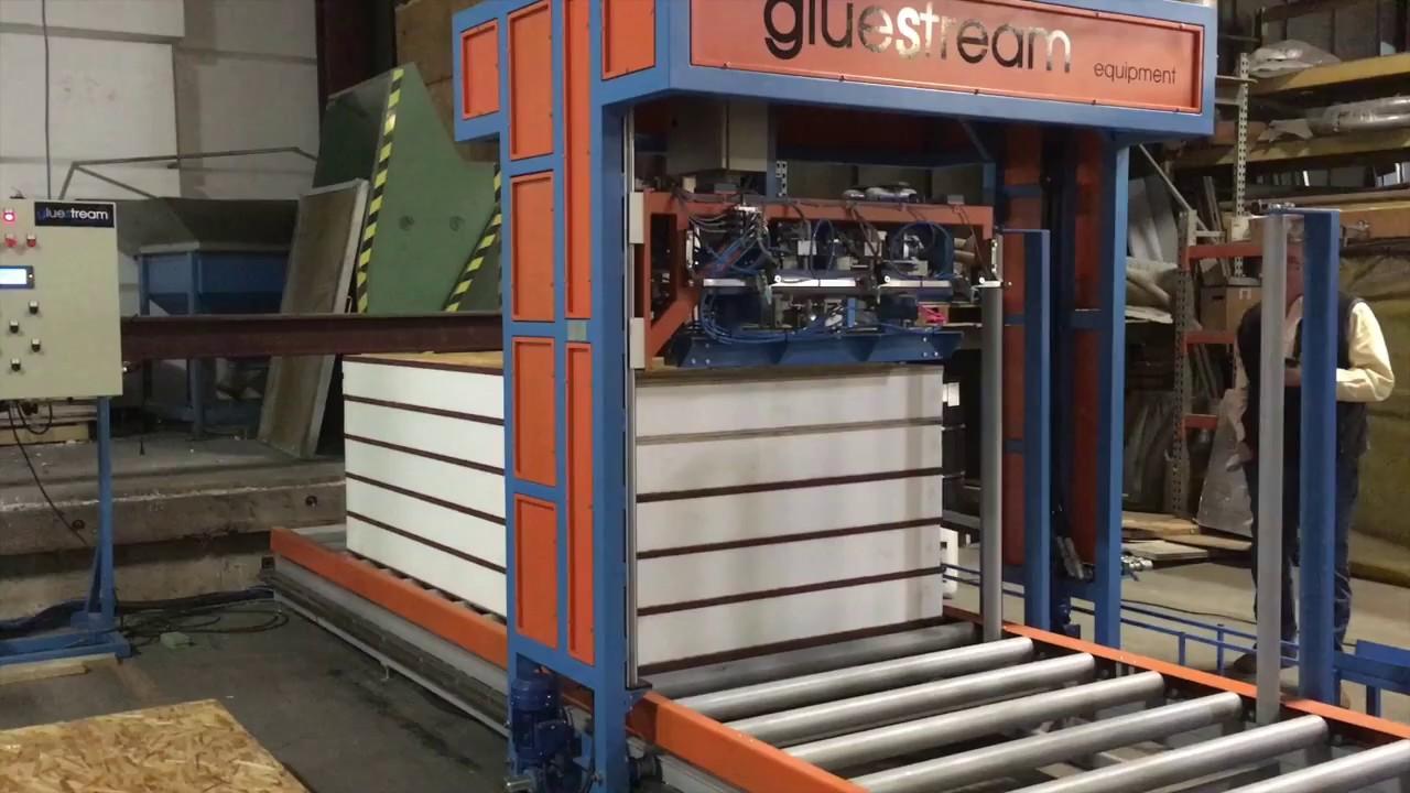 SIPs sandwich panel production equipment