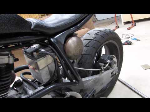 Repeat buell m2 cyclone harley davidson custom drag frame