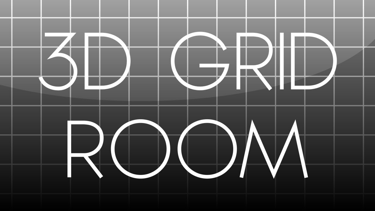 After Effects Tutorial 3d Grid Room