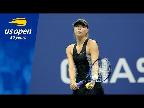 2018 US Open Top 5 Plays: Maria Sharapova