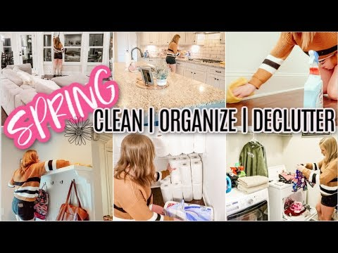 MAD DASH SPRING CLEAN ORGANIZE & DECLUTTER   PREPPING FOR THE WEEK   PANTRY ORGANIZATION   SAHM