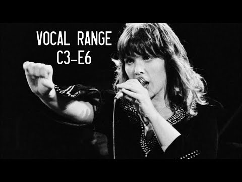 The Vocal Range of Ann Wilson