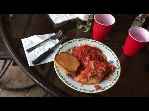 Uncle Mike makes Chicken Cacciatore