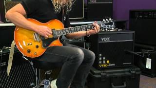 Vox VT+ Valvetronix Series Guitar Modeling Combo Amps Demo   Full Compass