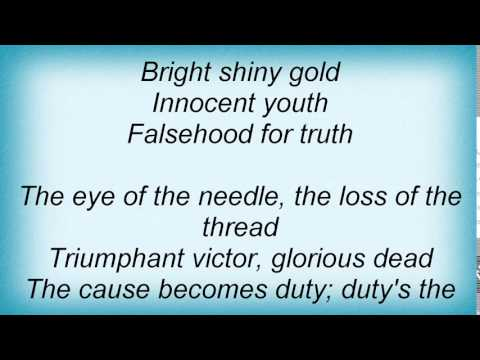 19166 Procol Harum - New Lamps For Old Lyrics