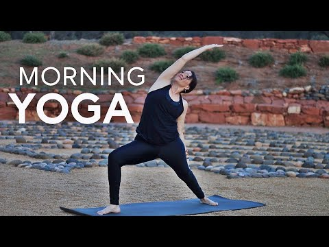 Morning Yoga Flow (AM For Energy) | Fightmaster Yoga