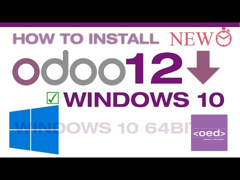 How To Download And  Install Odoo 12.0 Community Edition  On Windows 10