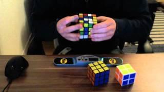 Speedcubing: 2x2, 3x3, 4x4 relay