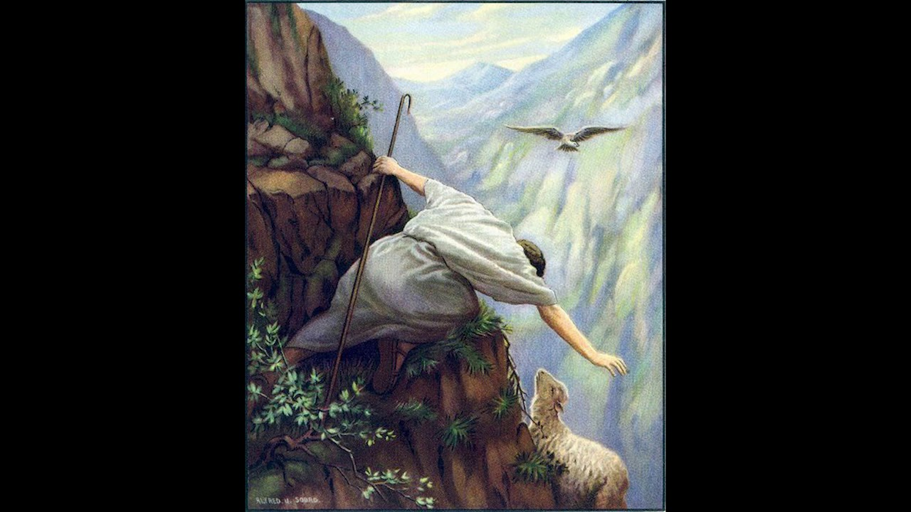 The Lost Sheep - Alfred Usher Soord | Pathways to God