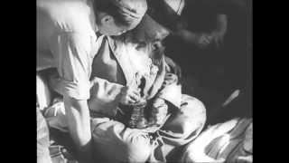"""Кинорежиссер Сергей Эйзенштейн на съемках фильма """"Иван Грозный"""" и в гостях у Джамбула. 1942 год"""