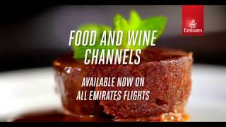 Emirates Food & Wine Channels | Emirates Airline